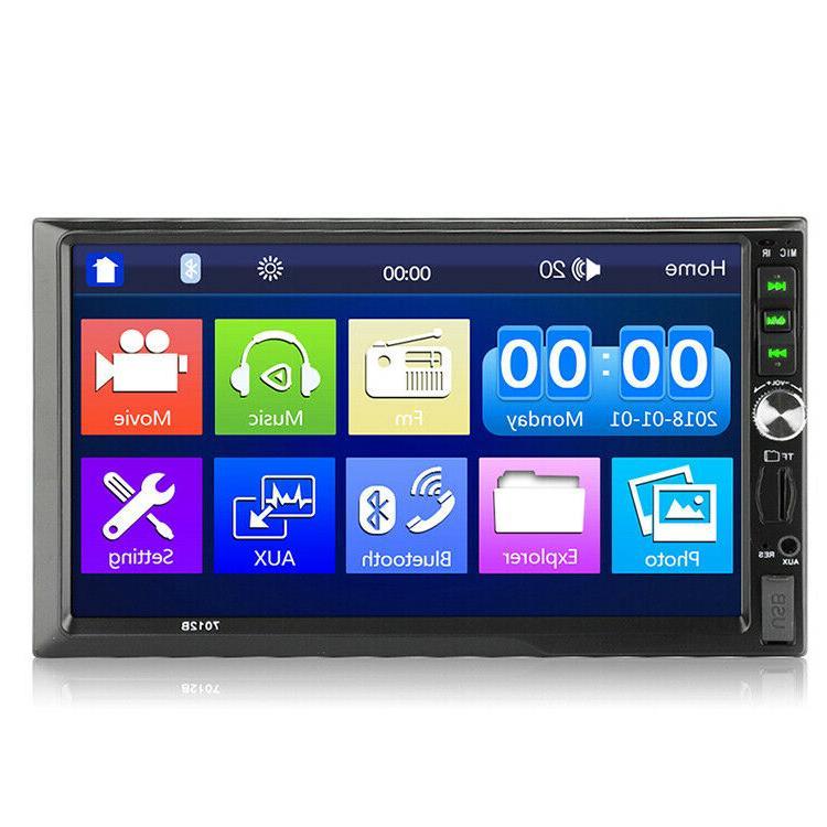 7012B Car FM MP5 Player TouchScreen