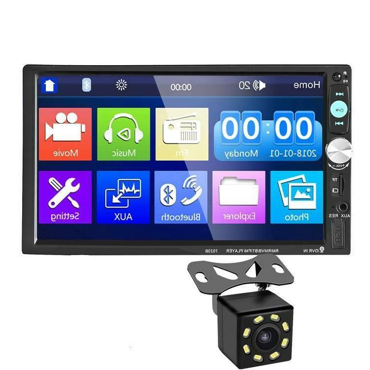7 inch bluetooth double 7012b 2 din
