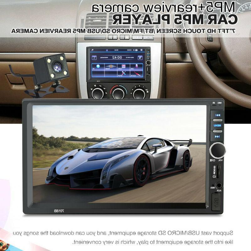 """7"""" Inch Car Mp5 Screen Bluetooth Rear"""
