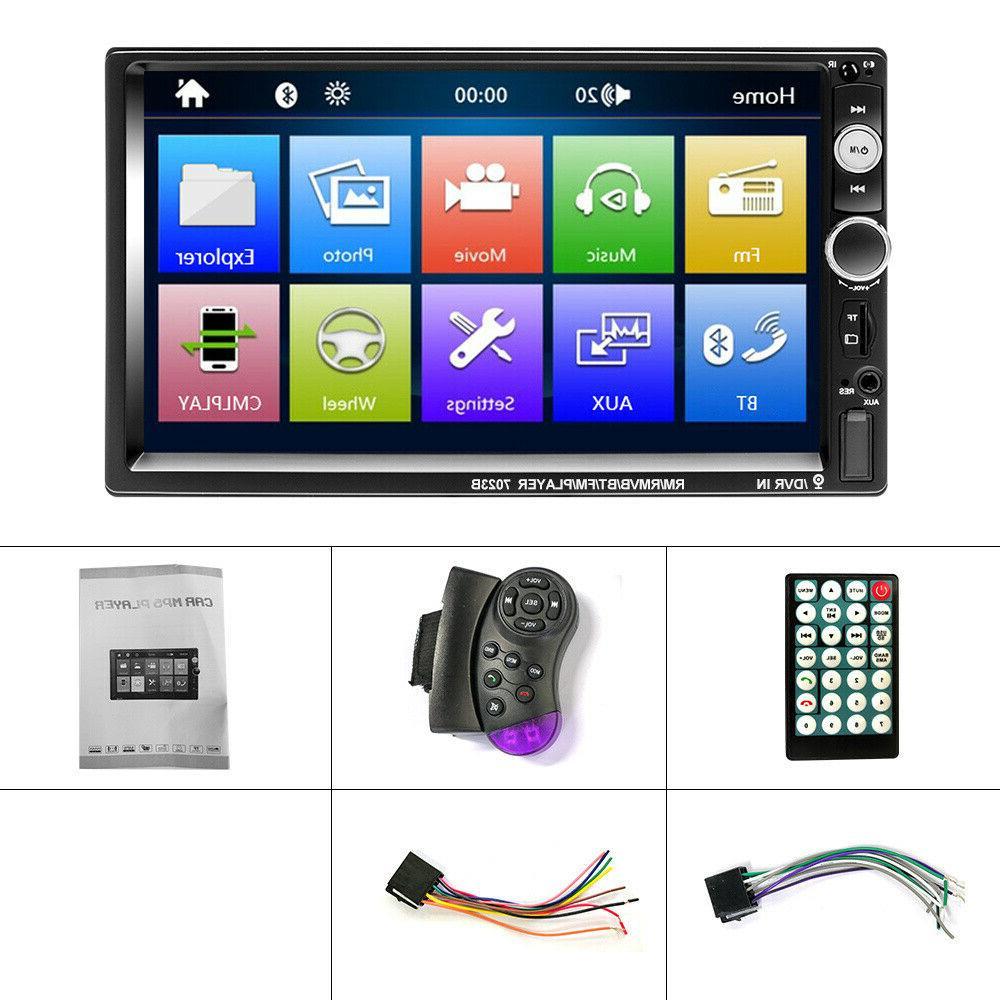 "7"" Car Stereo Radio Screen Mp5 SD HD"