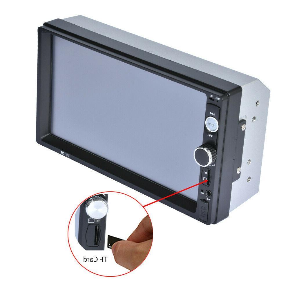 "7"" Inch Radio HD Mp5 Player Touch Screen Bluetooth Radio 2din"