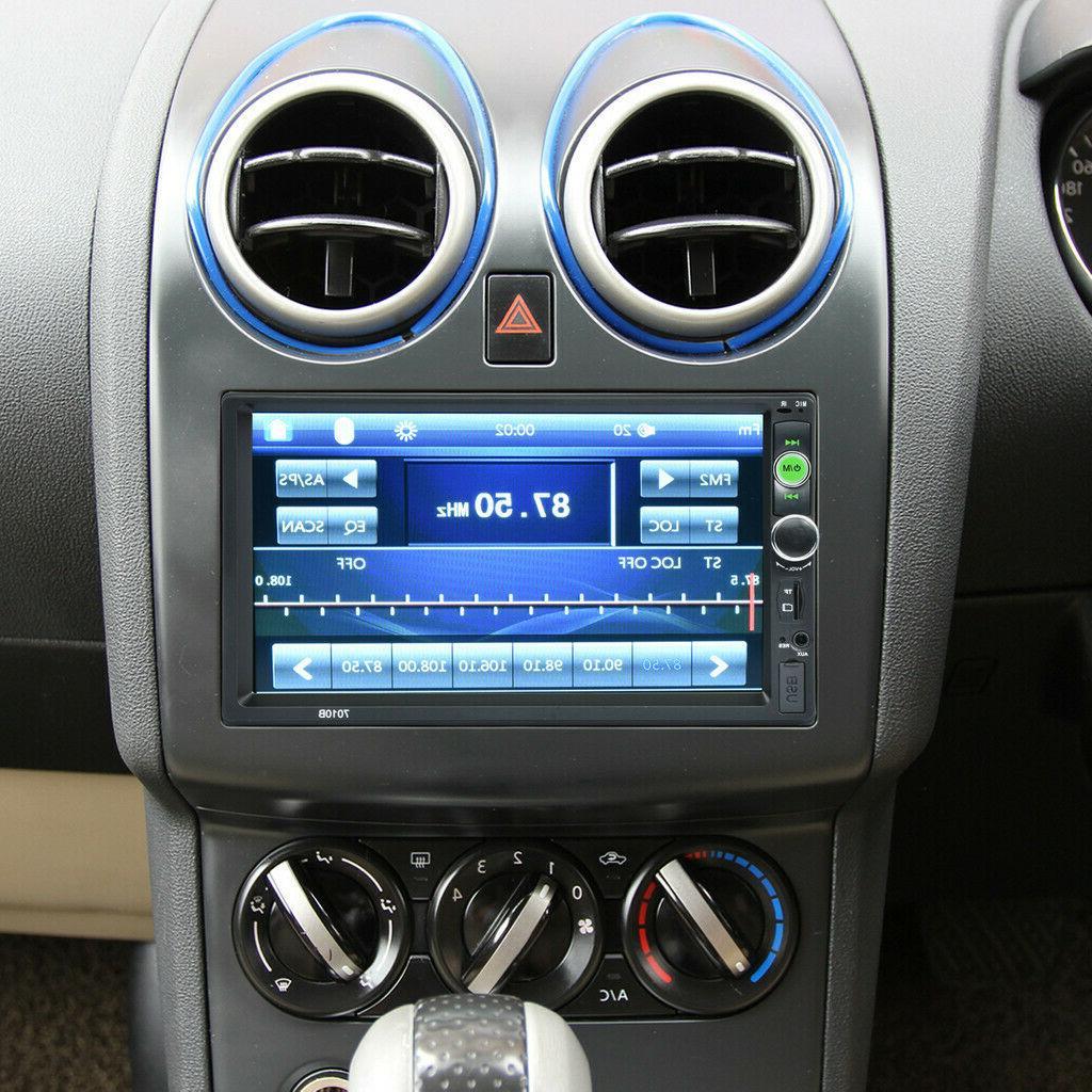 "7"" Car Radio HD Touch 2din"