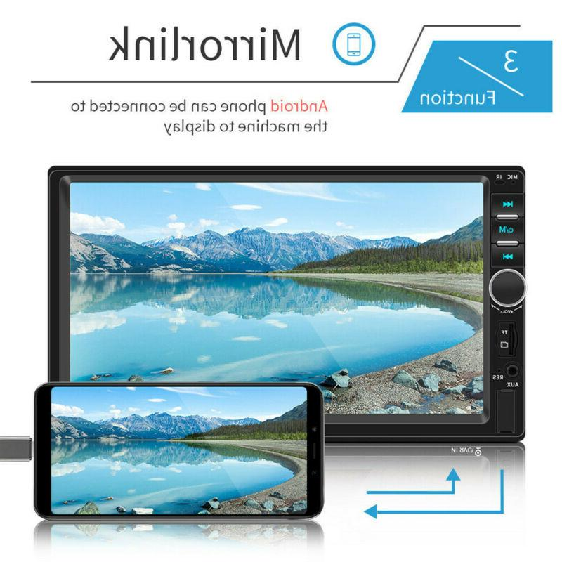 """7.0"""" Double Screen Player Bluetooth +Camera"""