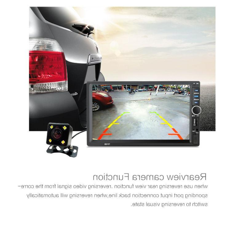 7 inch double 2din car mp5 player