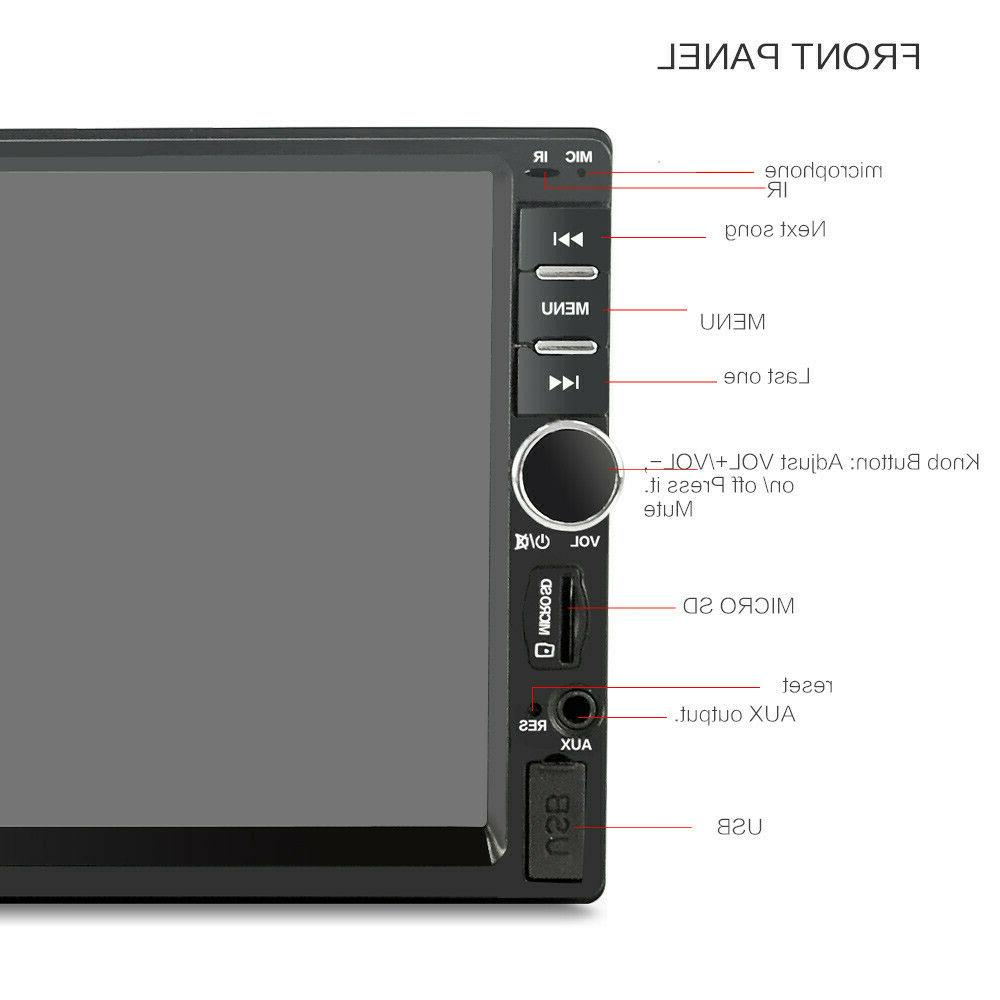 7 Double 2 Stereo MP5 TouchScreen