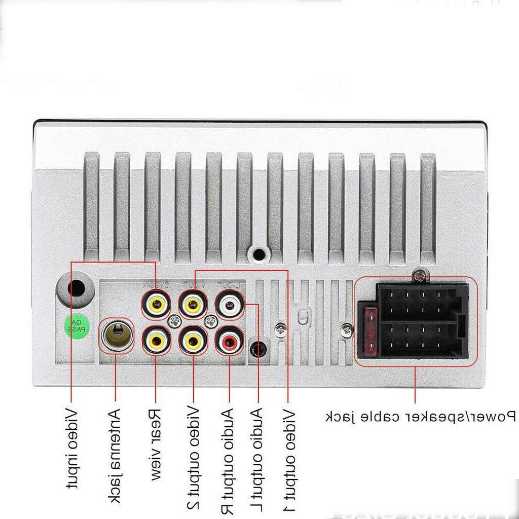 7Inch 7023B DIN Radio Player Blue-tooth