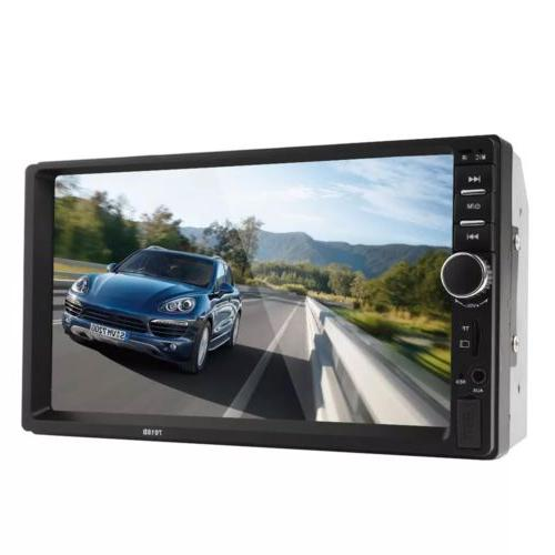 """Car Stereo Radio Audio Din 7"""" Touch USB AUX"""