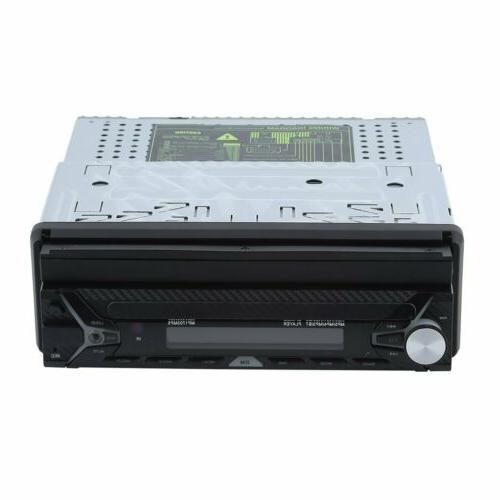 Din Dash DVD Player Bluetooth Touch Screen
