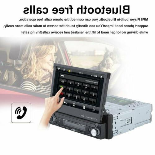 7 INCH Single Din Car Dash DVD Player Touch