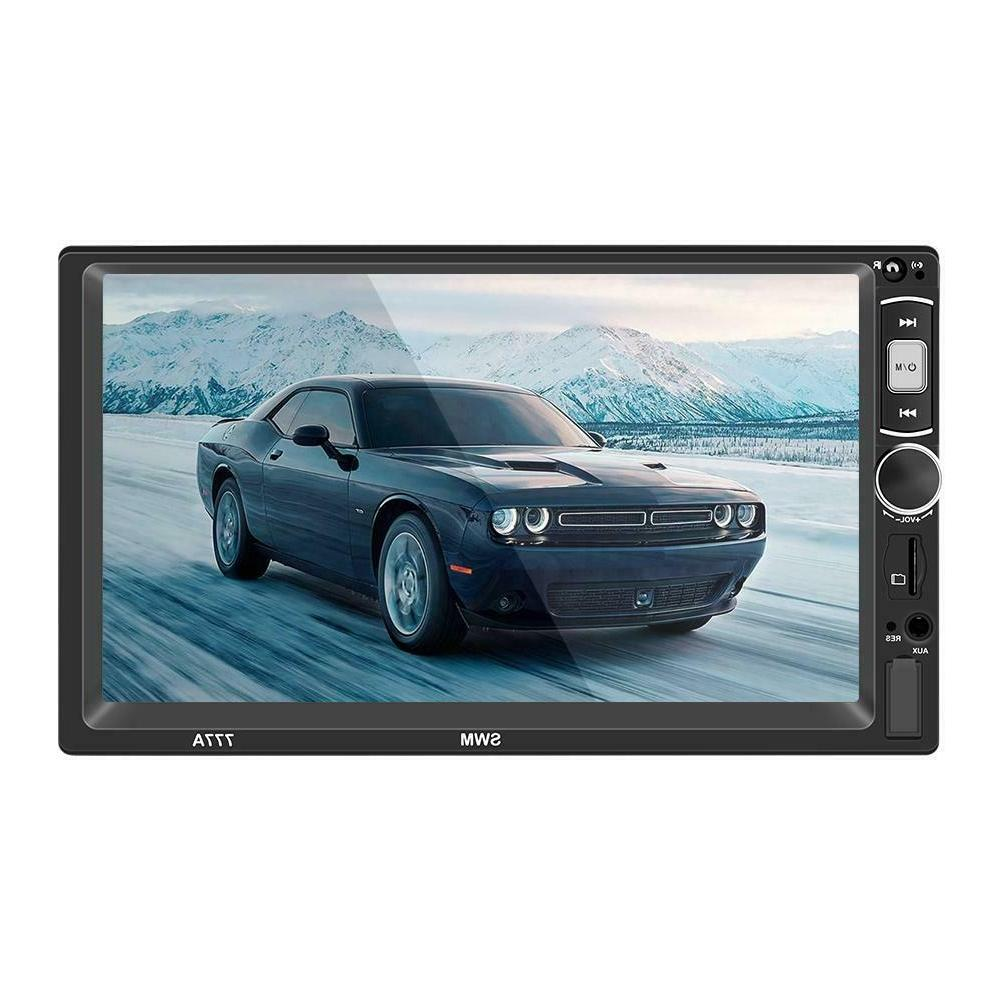 7 Inch 2Din MP5 Player FM Disk AUX Bluetooth 4.0