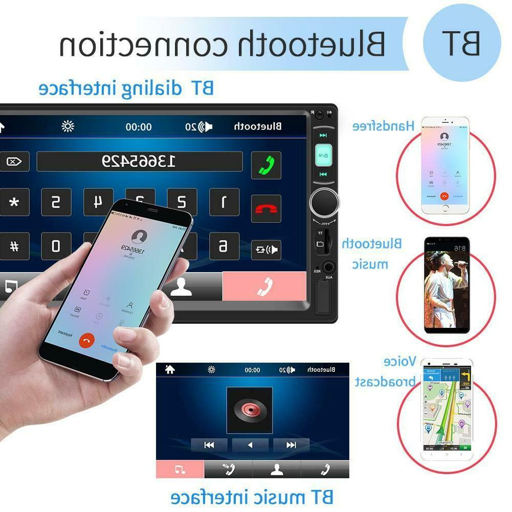 7 Inch Touch 2Din Stereo Player Radio Disk 4.0
