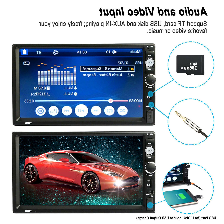 "7"" Car Touch Screen FM USB"