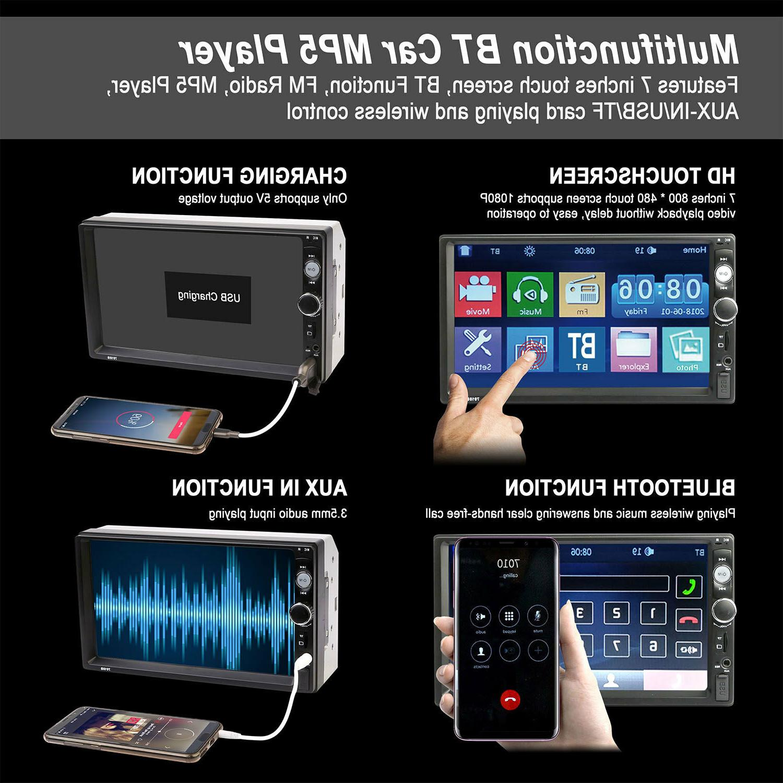 "7"" Car Mp5 Touch Screen FM"