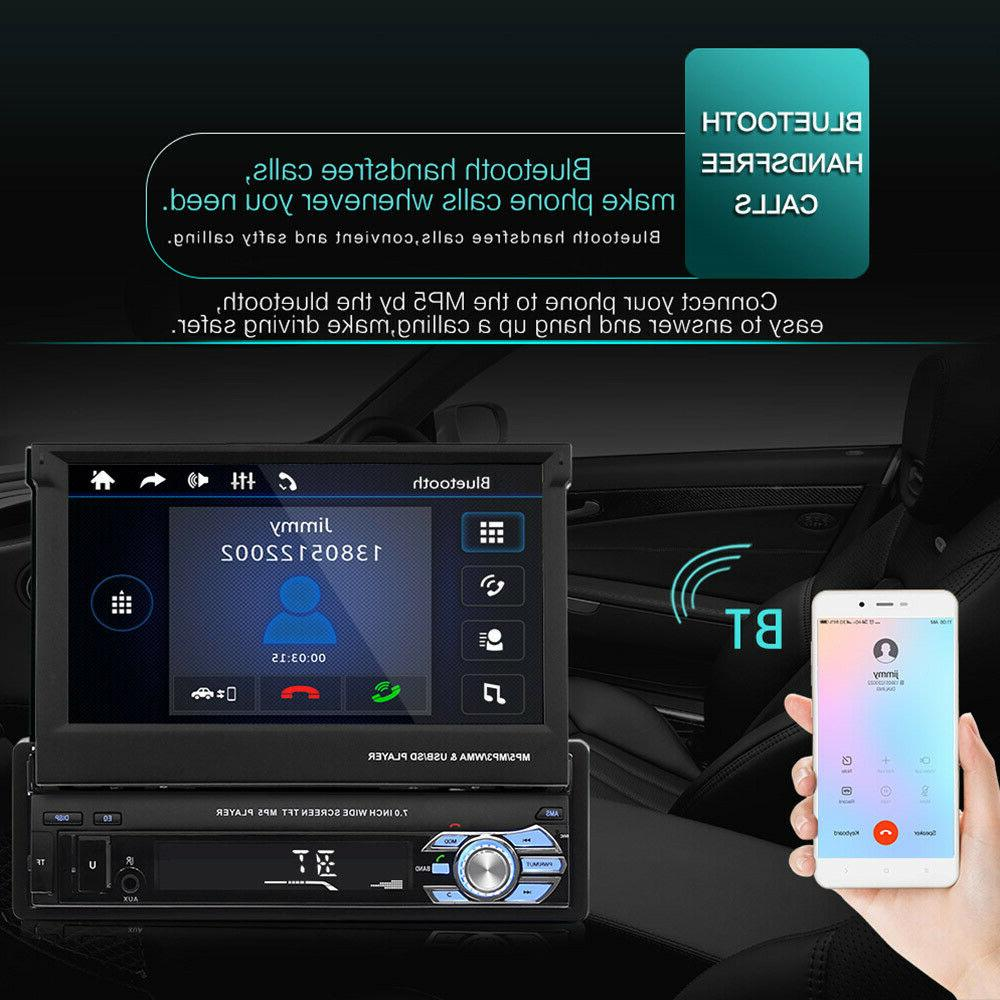 "7"" Touch Car MP5 Stereo Radio Single 1 Bluetooth +"