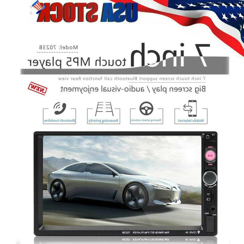 "7"" LED Stereo Player Touch Radio TT"