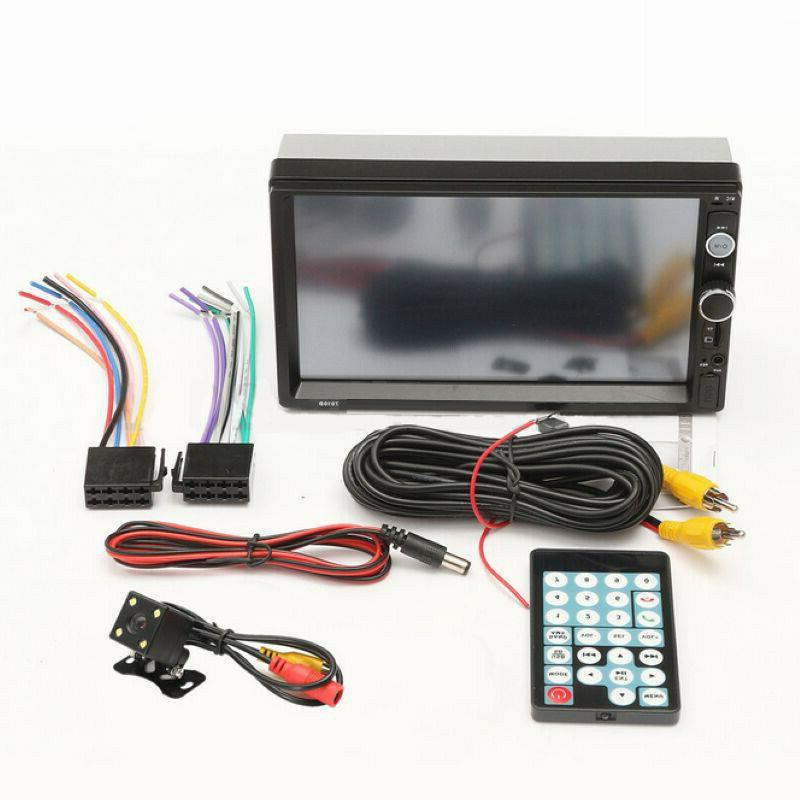 7inch Touch Screen Car Stereo USB/TF+Camera