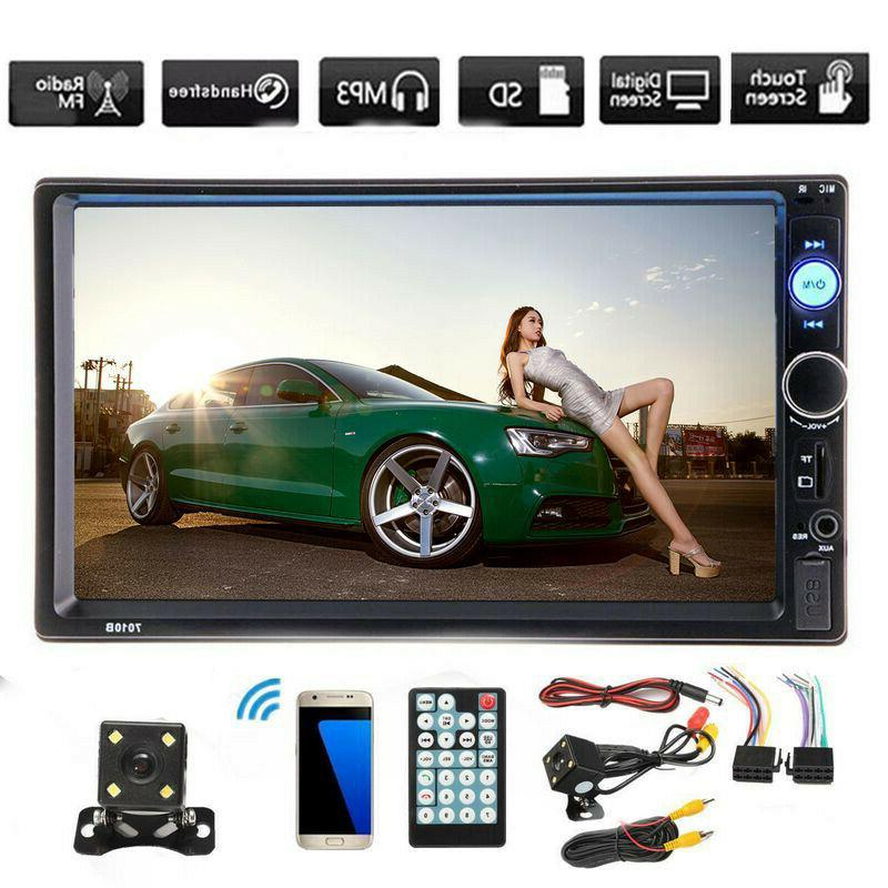 7inch Screen Stereo MP5 Player Android USB/TF+Camera