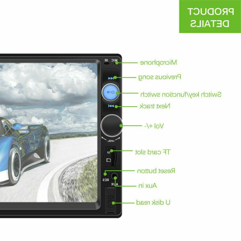 7inch Screen Car USB/TF+Camera