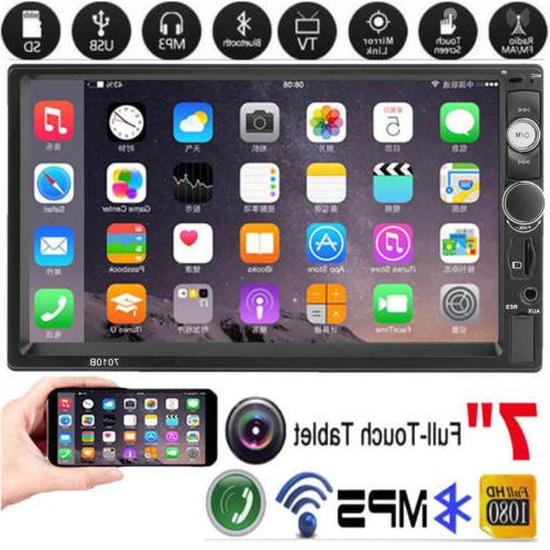 7inch Touch Stereo MP5 Hands-free AUX #
