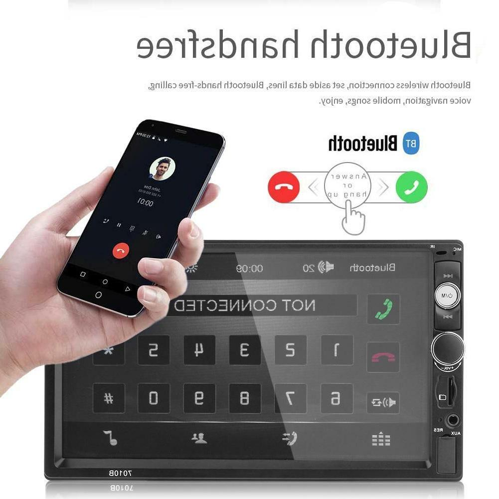 7inch Touch Stereo MP5 Player Hands-free AUX