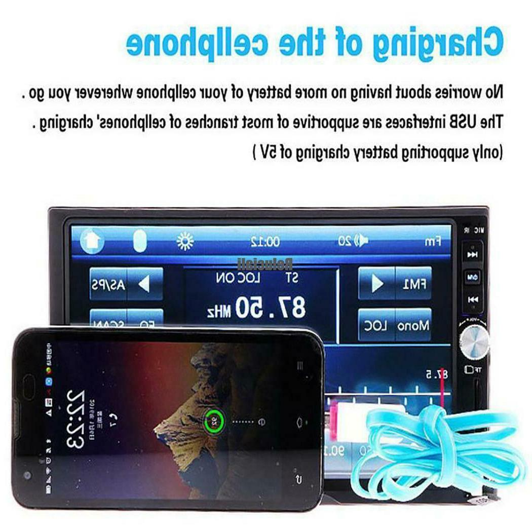 7inch Touch Screen Radio With Control RCAI