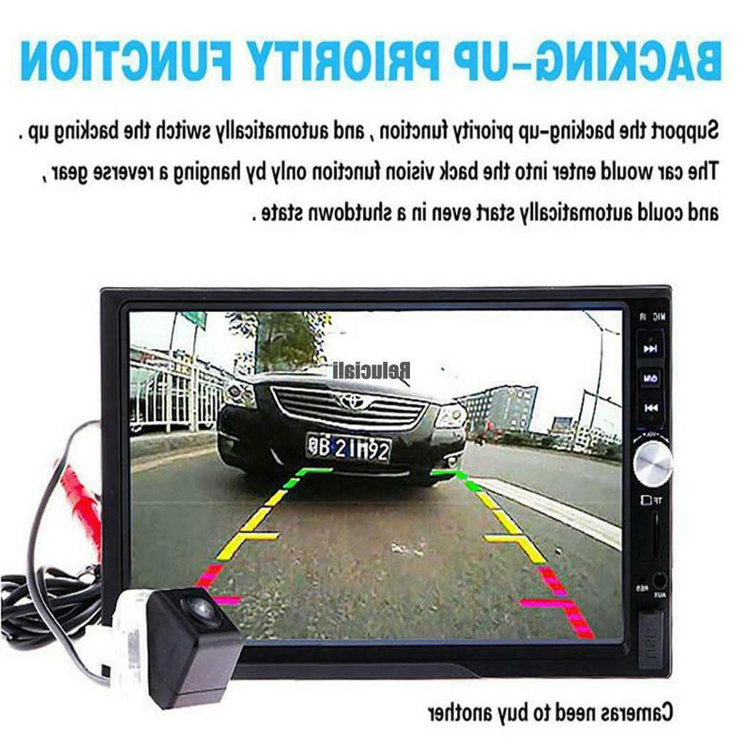 7inch Touch Screen Stereo Radio With Remote Control