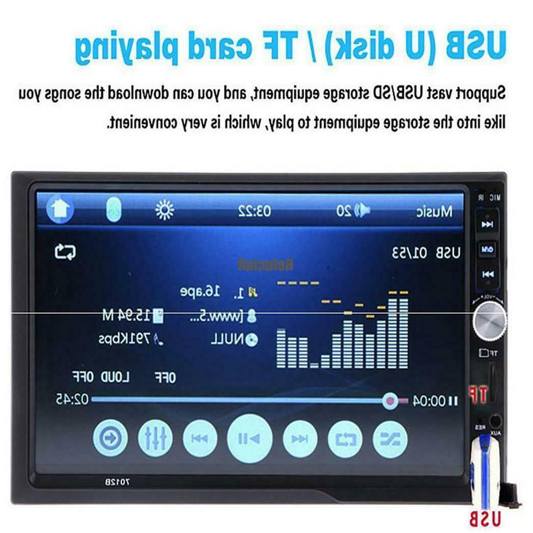 7inch Screen Radio Car With