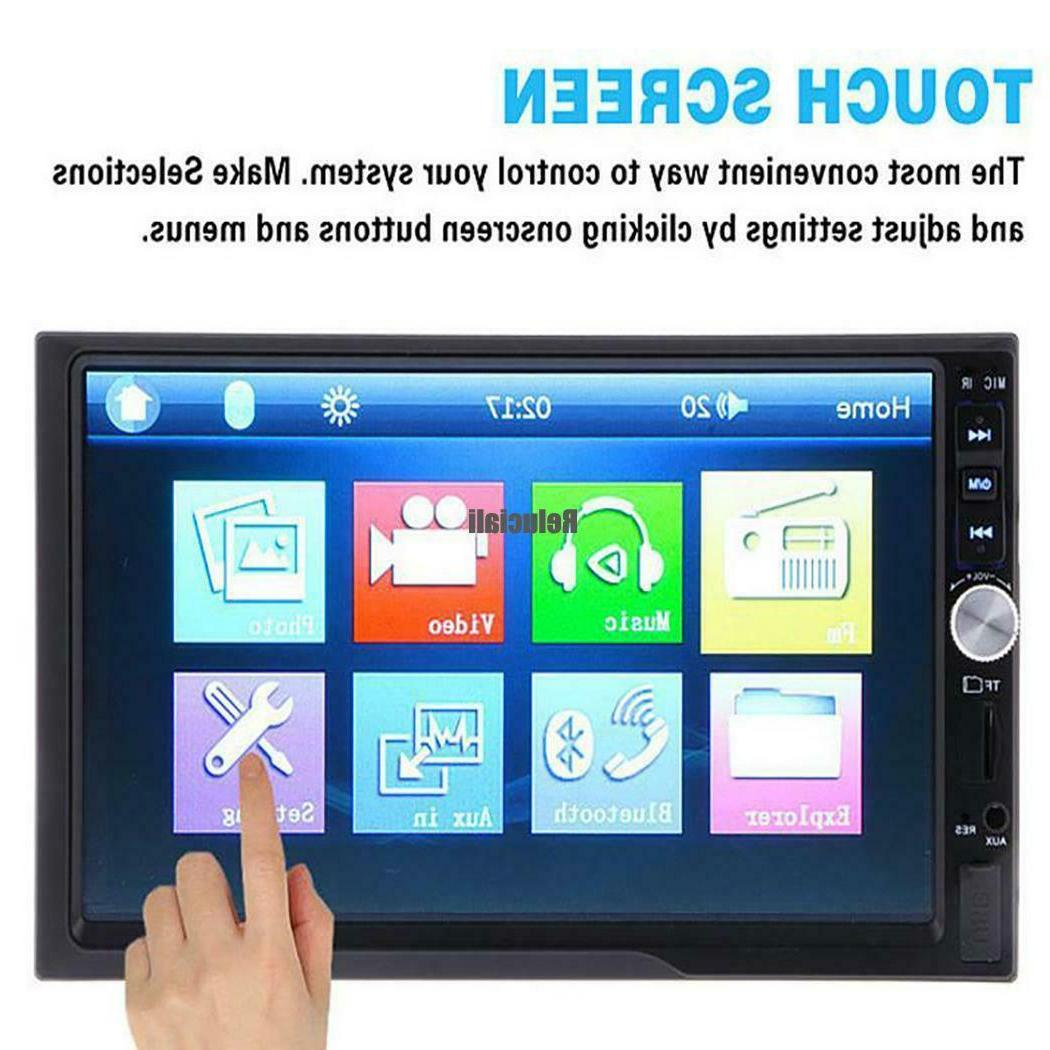 7inch Touch Screen Radio MP5 Player With Remote