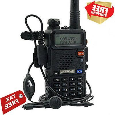 BaoFeng GT-3 Mark-II+Remote Speaker Pofung Transceiver, FM R