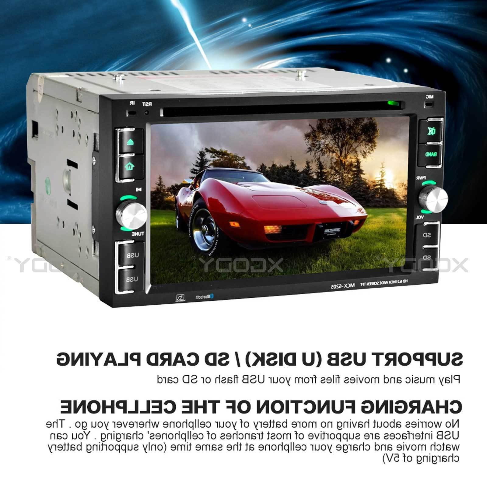 "Car CD 6.2"" Touch + Rear Cam"