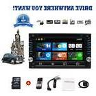 Eincar 7'' GPS Stereo 2Din Car DVD Player Subwoofer Ipod Tou