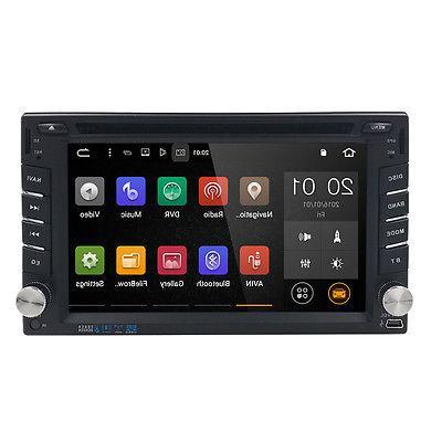 HIZPO Quad Core Universal 2Din Car Stereo Radio