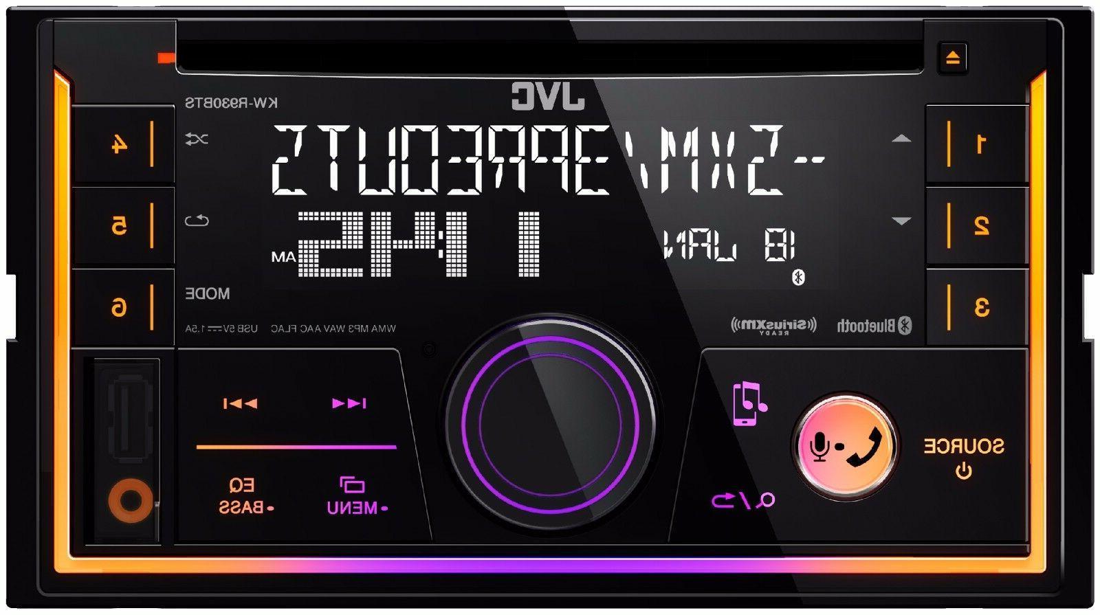 JVC Double Din DVD CD Player Car Radio