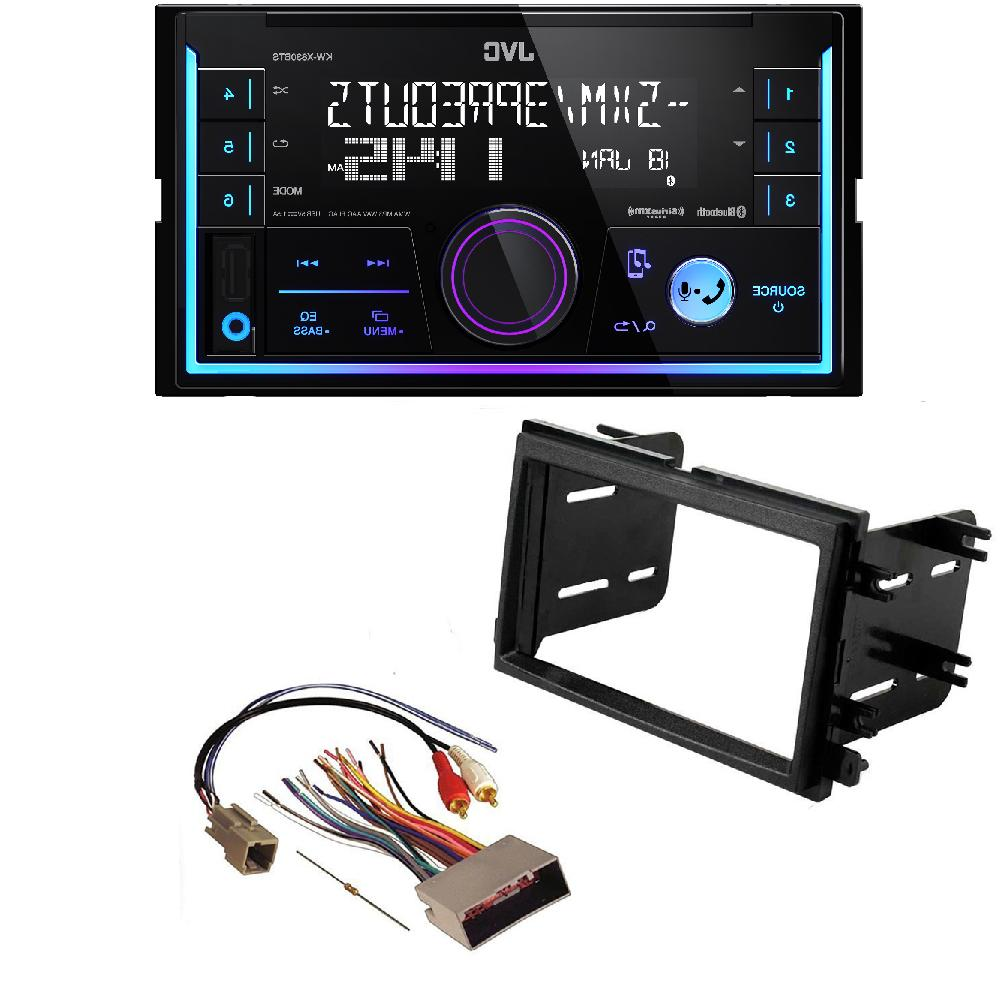 JVC Double Din DVD CD Player Car Radio Install Mount Kit Har