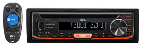 JVC KD-R490 Single-Din In Dash Car CD Receiver Stereo Radio