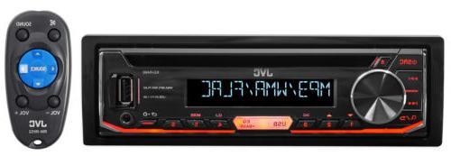 JVC KD-R490 In Dash CD Stereo w/