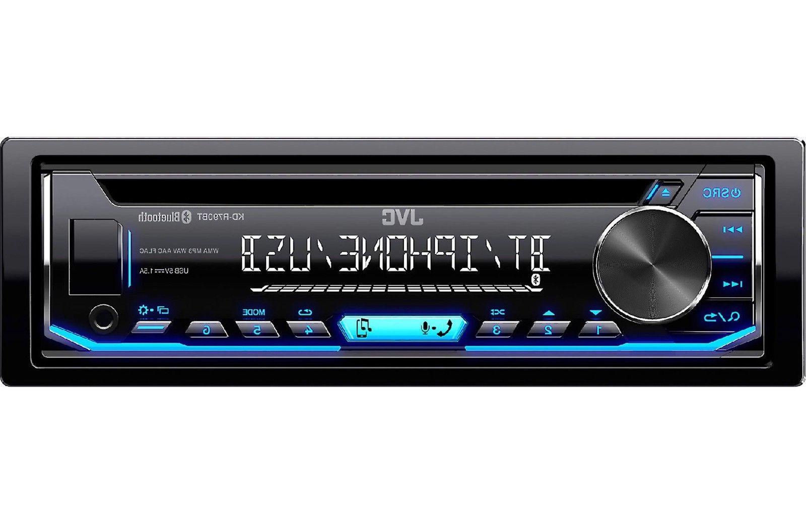 JVC KD-TD70BT 1 DIN In-Dash USB Bluetoot