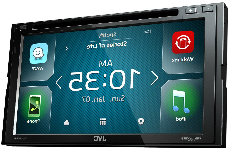 JVC KW-V640BT Waze SiriusXM In-Dash CD Car