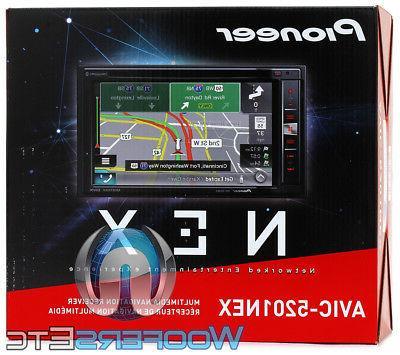 PIONEER AVIC-5201NEX CD DVD USB EQ BLUETOOTH GPS APPLE CAR P