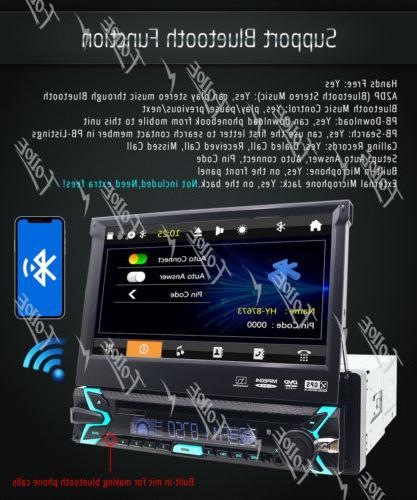 Single Car Player GPS/USB/Bluetooth