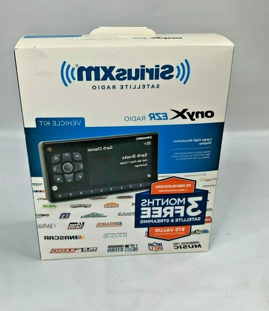 SiriusXM - Onyx EZR Satellite Radio Receiver with Vehicle Ki