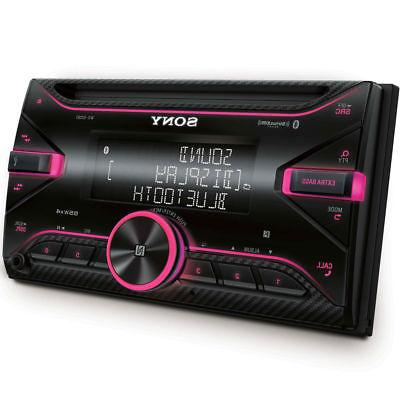 Sony WX-920BT 2-DIN Car Stereo CD Receiver Player with Bluet