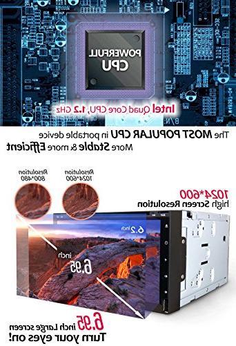 Android 7 CD DVD Player Corehan Din Dash Radio Touch Multimedia Player Navigator Bluetooth GPS Navigation