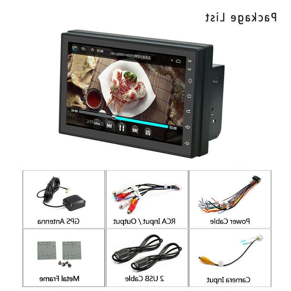 Android 8.1 2Din Quad Radio Player FM