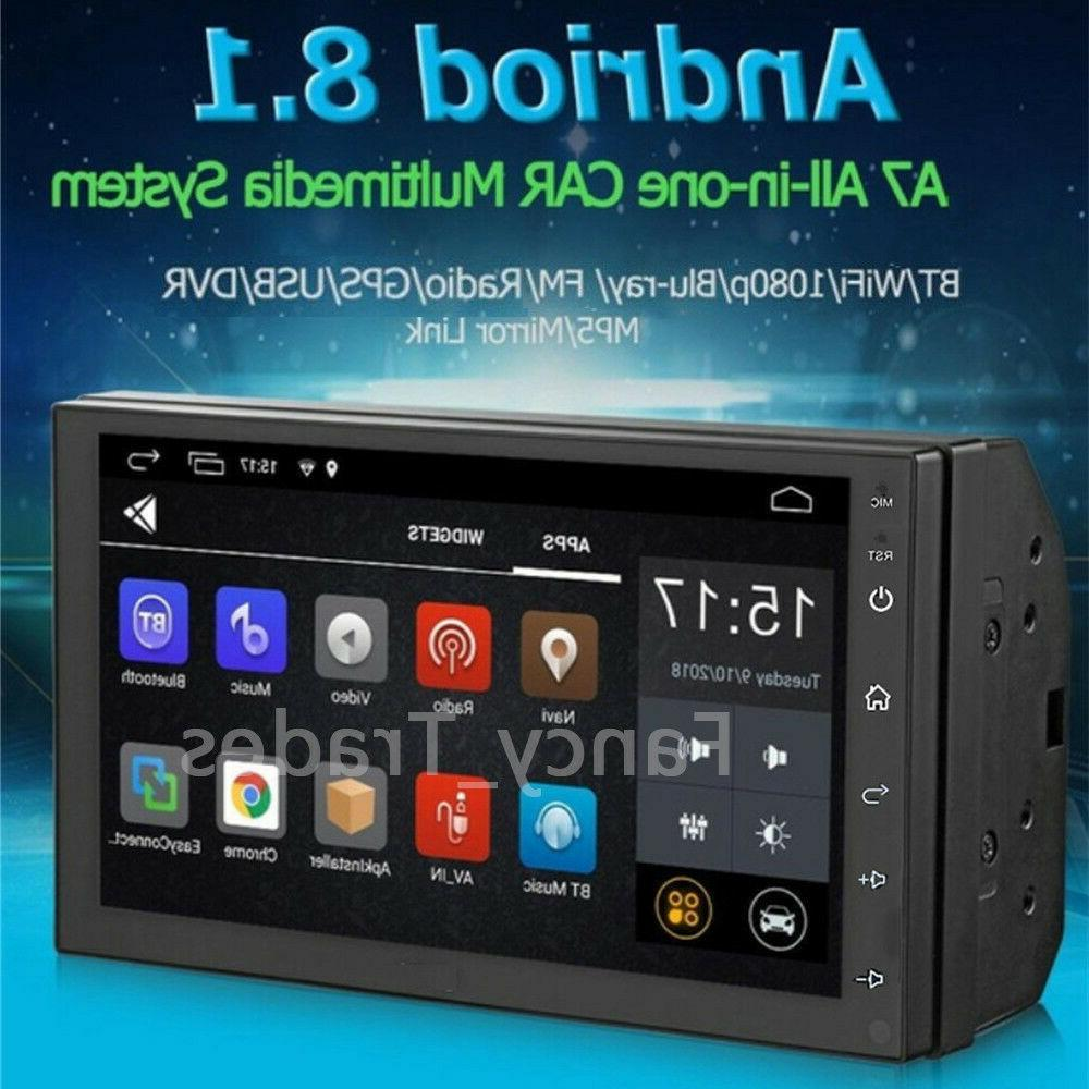 Android 8.1 Stereo Radio 2din HD MP5 GPS Player Touch Screen