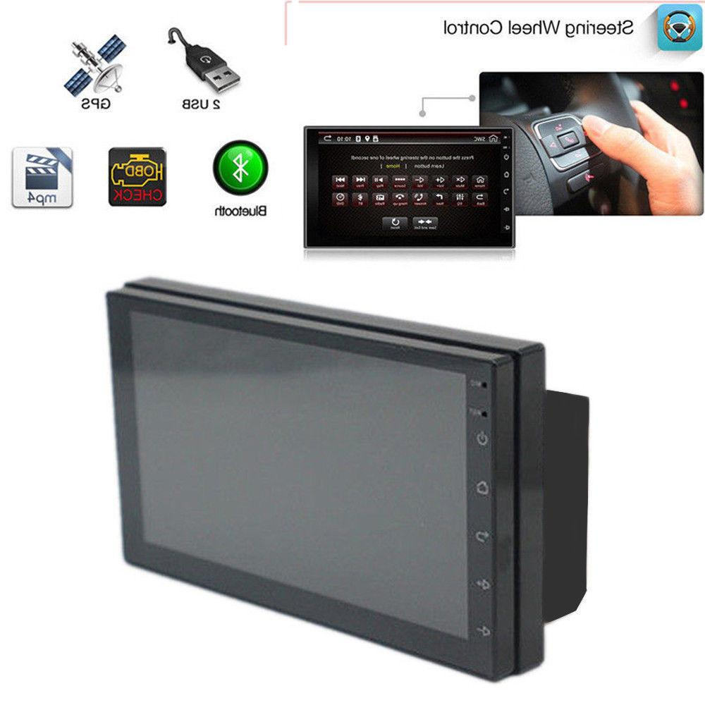 Android Bluetooth Stereo 2din HD FM GPS Player Screen