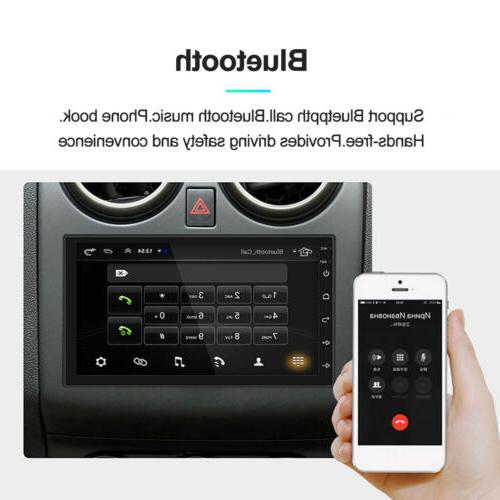 Android 8.1 Din HD Quad GPS WiFi MP5 FM US