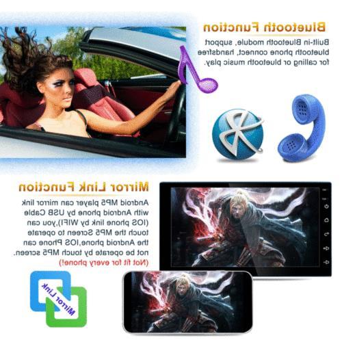 7in Quad Navi Car Player