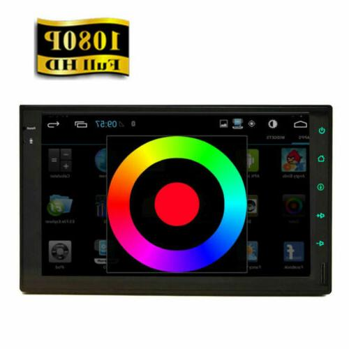 Android GPS Navigation Player Double Din 7""