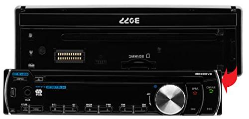 BOSS AUDIO SINGLE-DIN RECEIVER BLUETOOTH